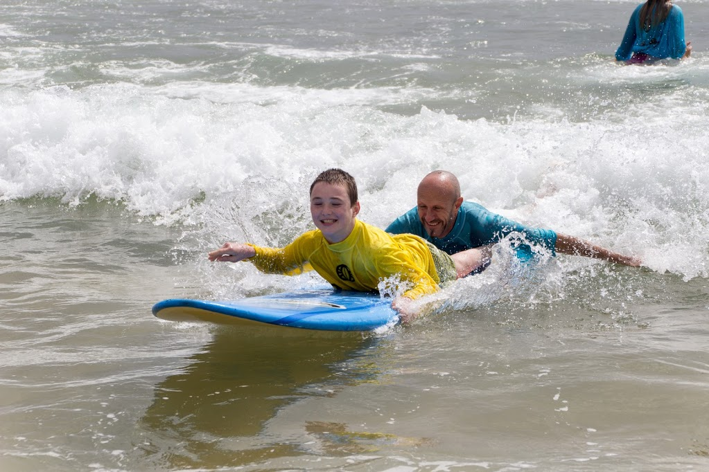 DSA (Disabled Surfers Association) Kids are Up for a Surfing Challenge