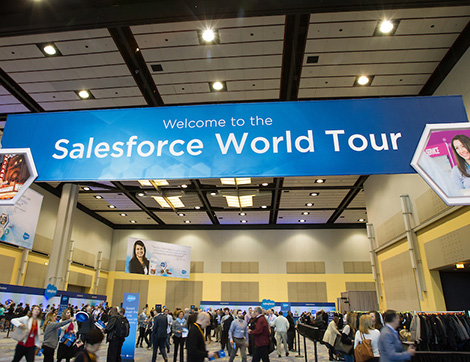 Salesforce World Tour Toronto: How To Make The Most of Peer Networking Opportunities