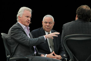 Gen. Colin Powell and GE's Jeff Immelt Talk About Leadership