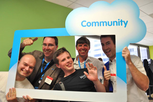 How to Become a Part of the Salesforce Community