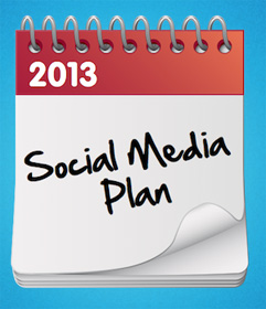 40 Ideas for Your 2013 Social Media Plan