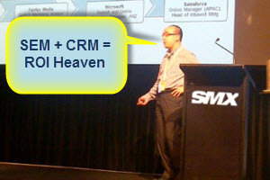 SEM+CRM=ROI Heaven: My [SLIDES] from SMX Sydney