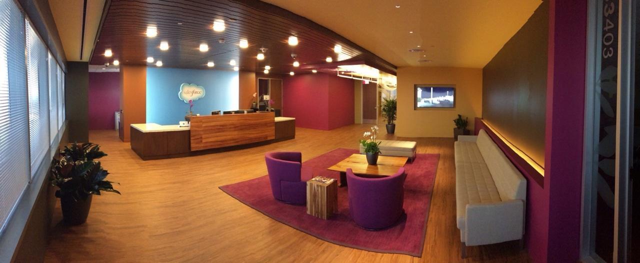 Sneak A Peek At Salesforce Com S New Atlanta Office