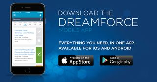 The Key to Success at Dreamforce: The Dreamforce Mobile App!
