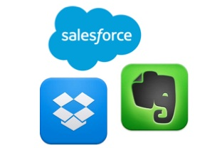 Webinar - Five ways Salesforce, Evernote and Dropbox combine for your success