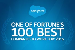 Salesforce is One of FORTUNE'S Top 10 Best Companies to Work For!