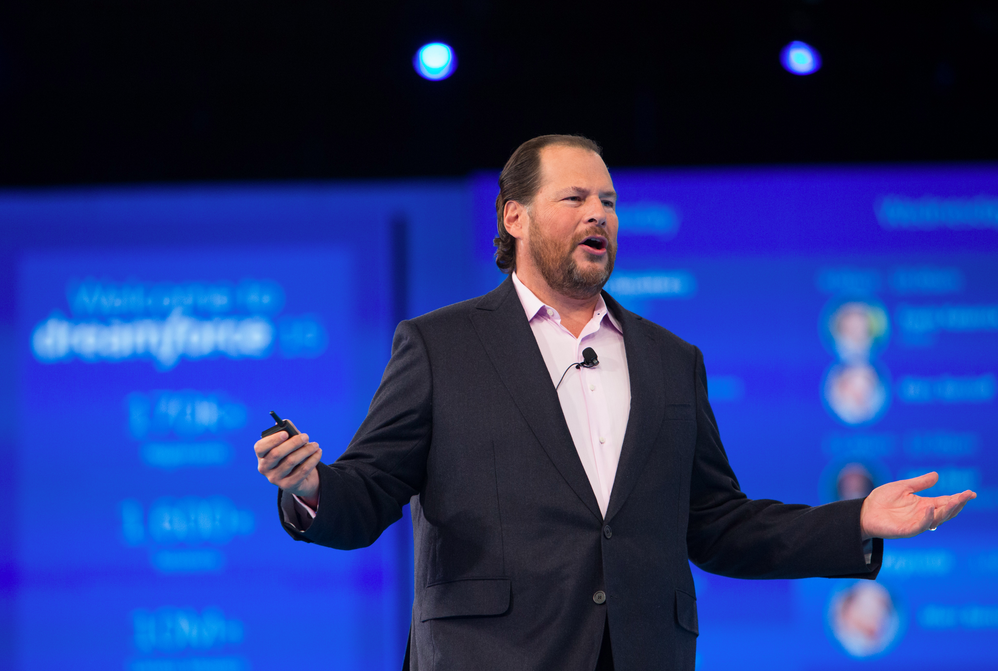 Dreamforce Keynote Marc Benioff We blijven werken aan giving back