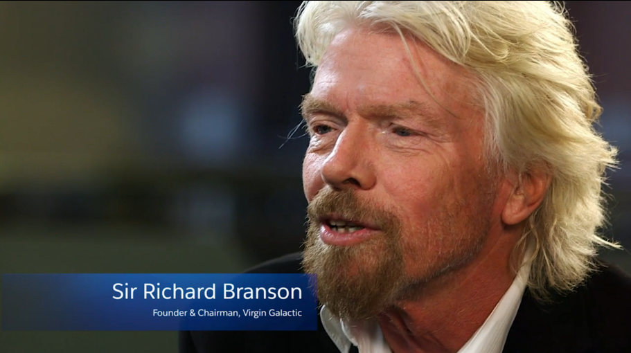 An Inside Look at Richard Branson's Vision for Space Tourism [VIDEO]