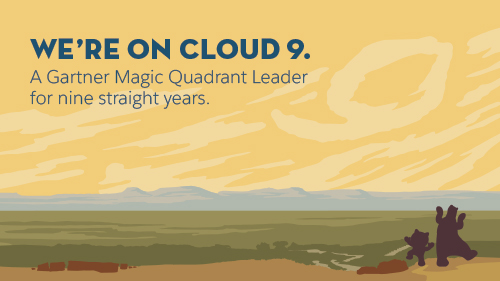 Salesforce is Named a Leader for the Ninth Consecutive Year in the Gartner Magic Quadrant for the CRM Customer Engagement Center.