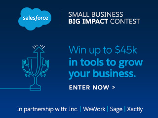 Are You a Small Business with Big Ideas? Here's Your Chance to Win $45K