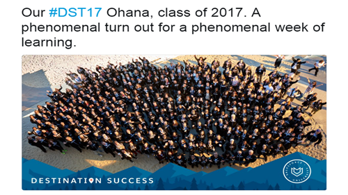 Destination Success 2017: They Came, They Learned, They Conquered.