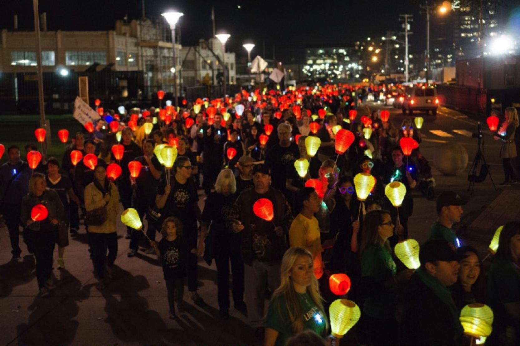 Salesforce Raises Over $2 Million for Light the Night!
