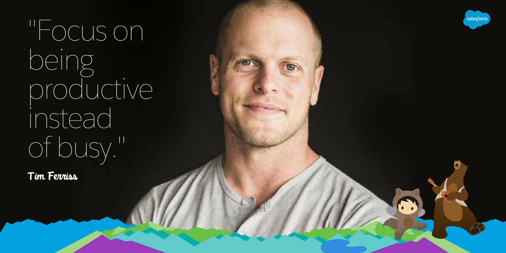 Tim Ferriss: 8 Tips from the Master in Productivity