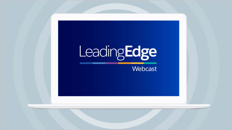 Watch webinars: Leading Edge