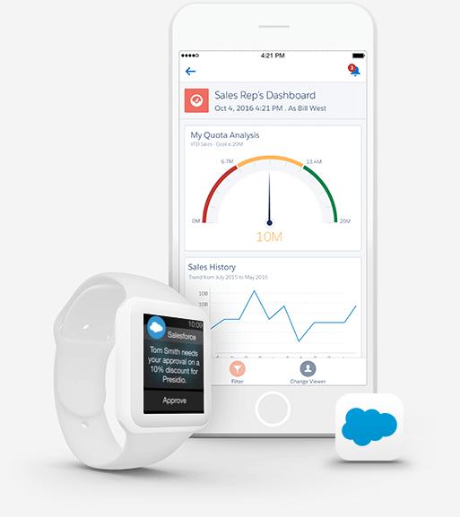 salesforce1 mobil uygulama